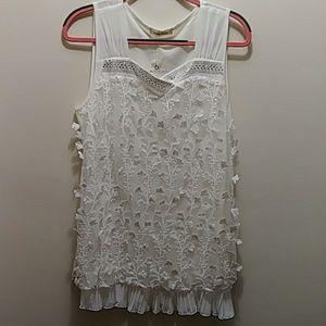 f3ef82cfc26e7d Simply Couture Sleeveless Top Gorgeous! NWT Sz XL